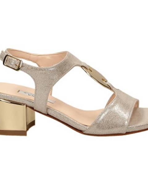Strieborné topánky L'amour