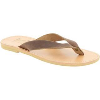 Sandále Attica Sandals  JASON NUBUCK DK-BROWN