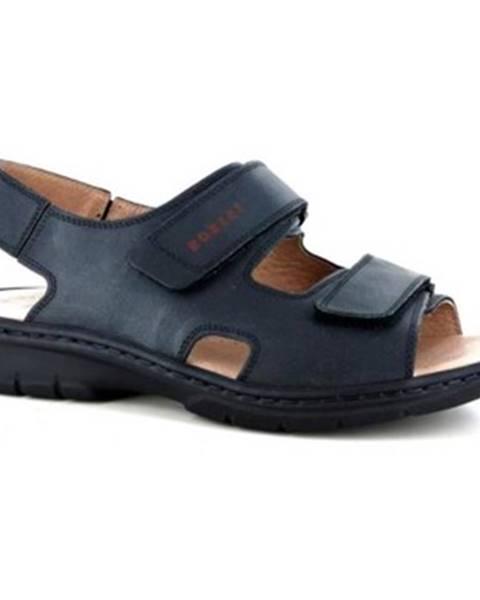 Čierne sandále Robert