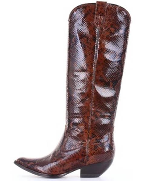 Hnedé topánky Jeffrey Campbell