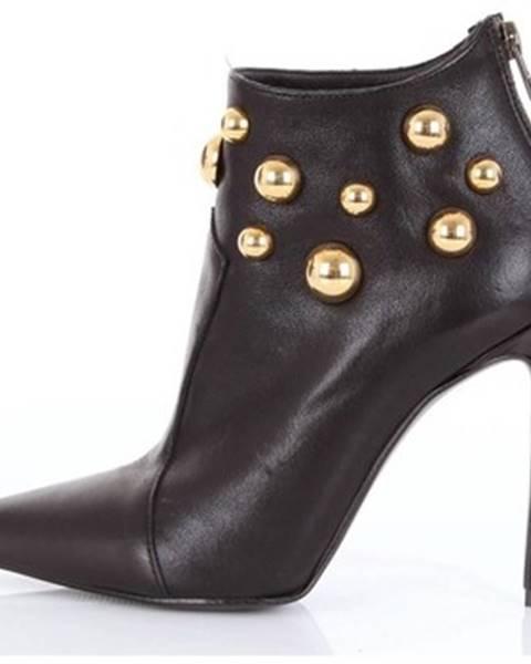 Čierne topánky Francesca Conoci