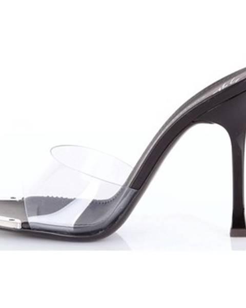 Čierne topánky Giuseppe Zanotti