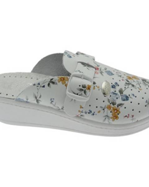 Biele topánky Medical Comfort