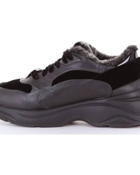 Čierne tenisky Santoni