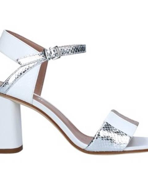 Strieborné topánky Tres Jolie