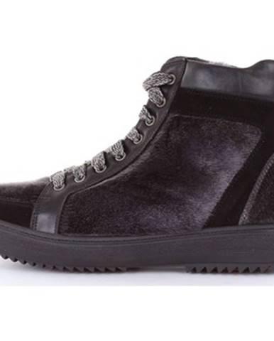 Viacfarebné polokozačky Hice Shoes