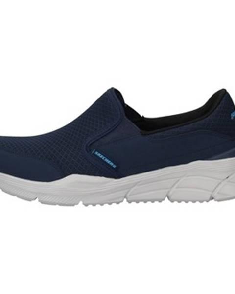Modré espadrilky Skechers