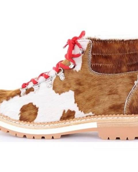 Viacfarebné topánky Montelliana