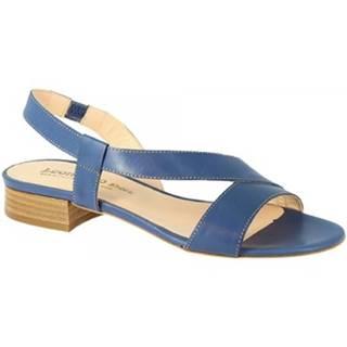 Sandále Leonardo Shoes  3140 VITELLO COBALTO