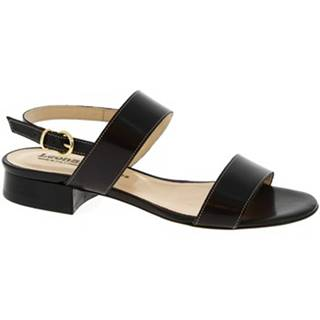 Sandále Leonardo Shoes  3159 VITELLO NERO