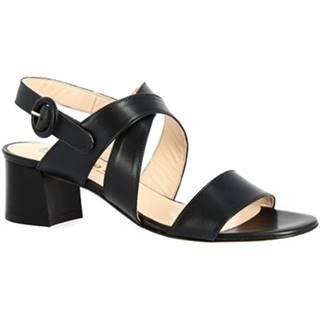 Sandále Leonardo Shoes  3371 VITELLO BLU