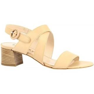 Sandále Leonardo Shoes  3371  VITELLO NATURALE