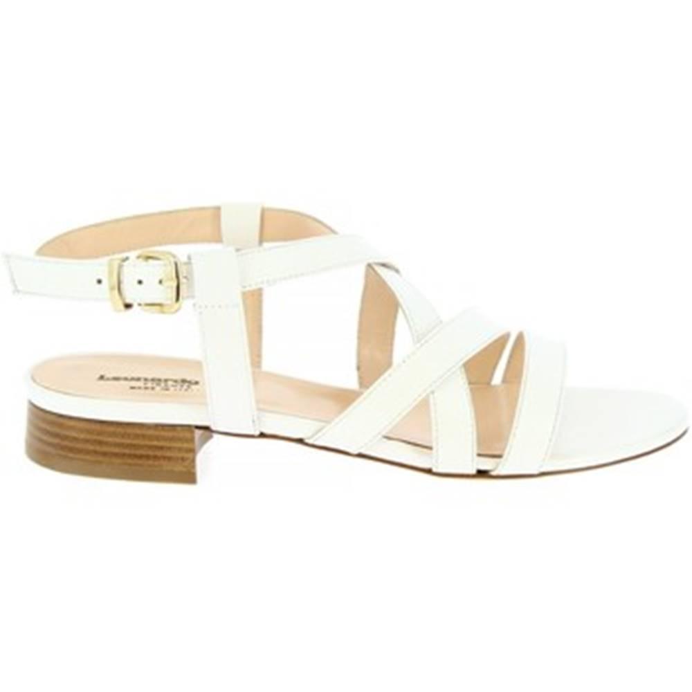 Leonardo Shoes Sandále Leonardo Shoes  3126  VITELLO BIANCO