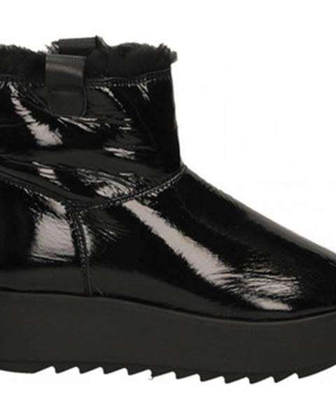 Čierne topánky Hoor