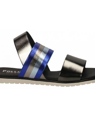 Topánky Pollini Silver