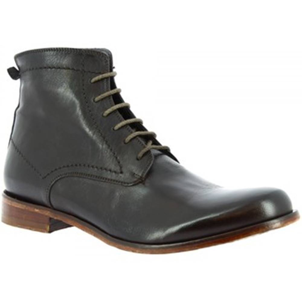 Leonardo Shoes Polokozačky Leonardo Shoes  2580/50 PAPUA BRONZATO
