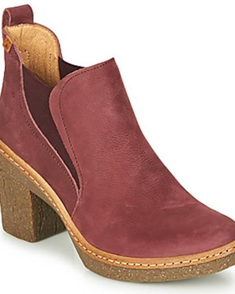 Bordové topánky El Naturalista