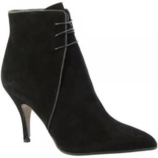 Čižmičky Leonardo Shoes  4552 CAMOSCIO NERO