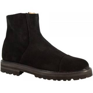 Čižmičky Leonardo Shoes  7409 CAMOSCIO NERO