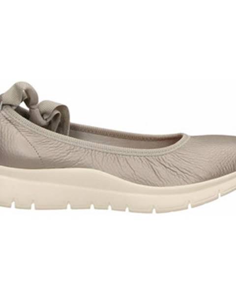 Strieborné topánky Frau