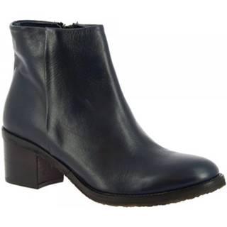 Čižmičky Leonardo Shoes  R065 TOFFY BLU