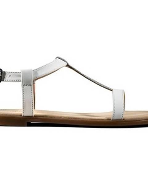 Biele topánky Clarks