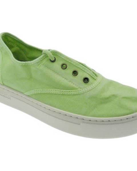 Zelené topánky Natural World