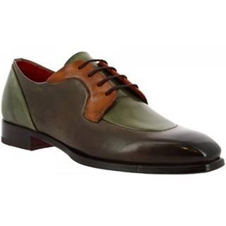 Derbie Leonardo Shoes  9563E20 TOM MONTECARLO DELAVE TAUBE