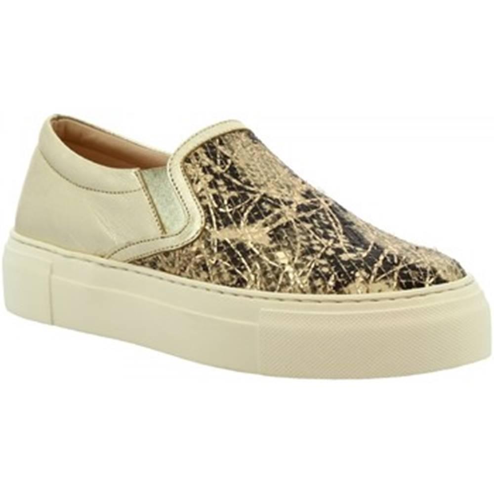 Leonardo Shoes Slip-on Leonardo Shoes  G02 PITONE MOVIE ORO