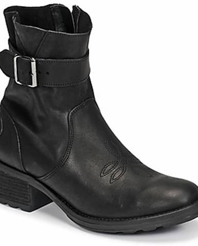 Čierne topánky Palladium Manufacture