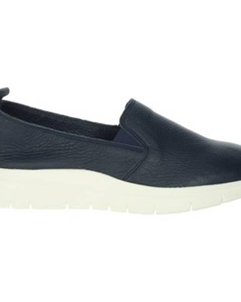 Modré topánky Frau