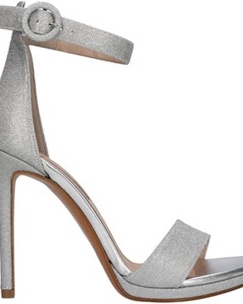Strieborné topánky Albano
