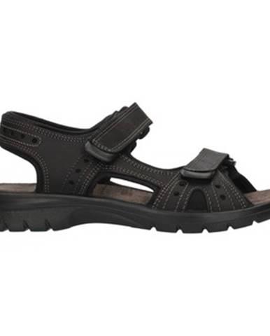 Čierne športové sandále Imac