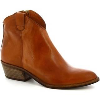 Čižmičky Leonardo Shoes  Z122 AMERICA CUOIO