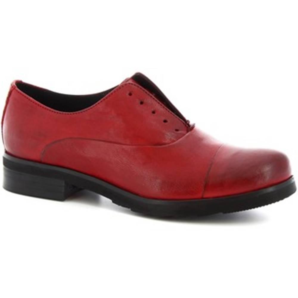 Leonardo Shoes Derbie Leonardo Shoes  1914 ROK ROSSO