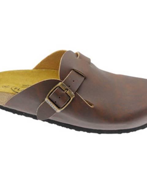 Hnedé topánky Bioline