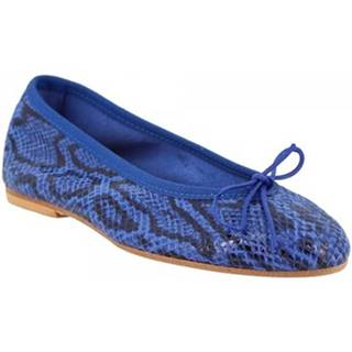 Balerínky/Babies Leonardo Shoes  6087 PITEN MARINE