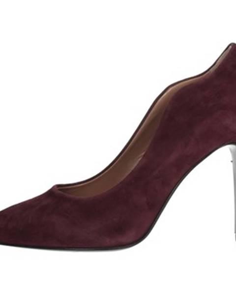 Červené topánky Chiara Firenze