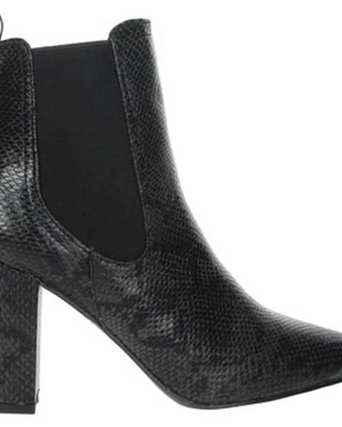 Čierne topánky Shop Art