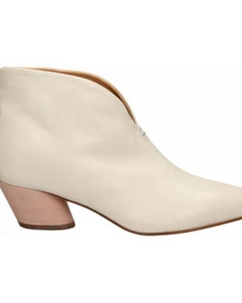 Biele topánky Halmanera