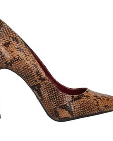Hnedé topánky Francescomilano