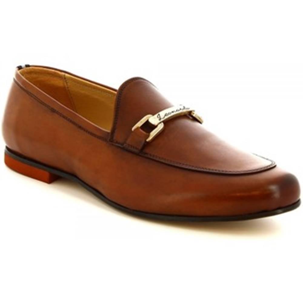 Leonardo Shoes Mokasíny Leonardo Shoes  1070_1 PE VITELLO CUOI