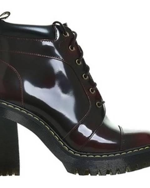 Viacfarebné topánky Dr Martens