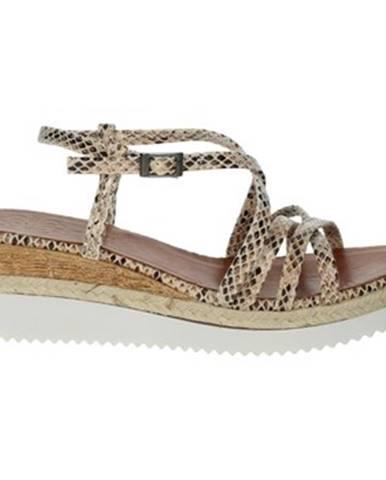 Béžové topánky Porronet