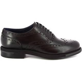 Richelieu Leonardo Shoes  892GO PE VITELLO NERO
