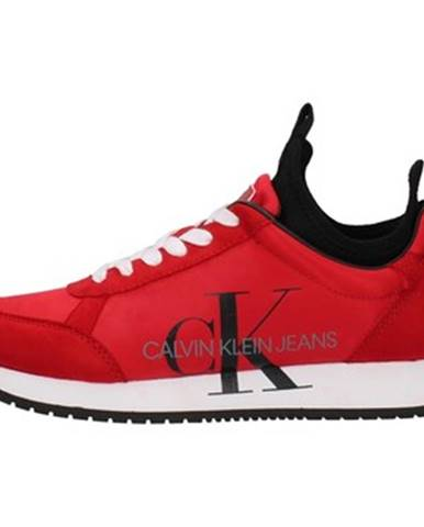 Červené tenisky Calvin Klein Jeans