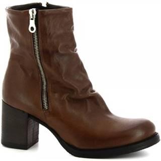 Čižmy do mesta Leonardo Shoes  050 ROK T. MORO