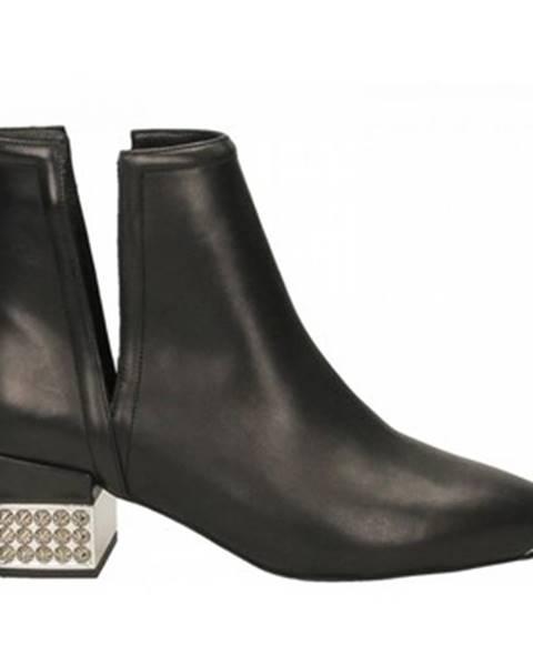 Čierne topánky Jeffrey Campbell