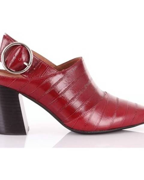 Červené topánky Jeffrey Campbell