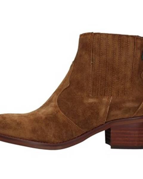 Hnedé topánky Dakota Boots